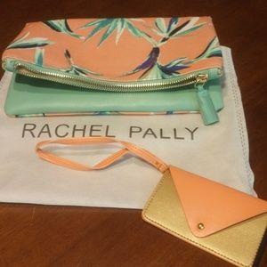 🆕 No Tags RACHEL PALLY Clutch W/Dust Cover 🆕